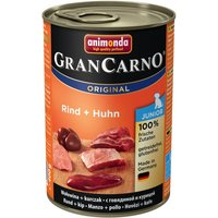 Animonda GranCarno Original Junior 6 x 400g - Beef & Turkey Hearts