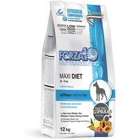 Forza 10 Maxi Diet with Fish - Economy Pack: 2 x 12kg