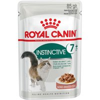 Royal Canin Instinctive +7 in Gravy - 12 x 85g