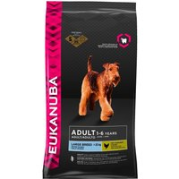Large Bags Eukanuba Dry Dog Food + Portable Power Bank Free!* - Adult Large Breed Weight Control (15kg)