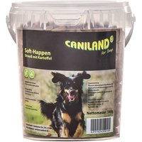 Caniland Soft Ostrich Chunks - Grain-Free - Saver Pack: 2 x 540g