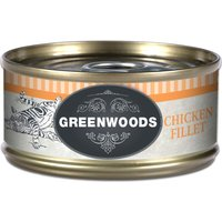 Greenwoods Adult Wet Cat Food Saver Pack 12 x 70g - Chicken Fillet