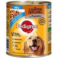 Pedigree Adult Classic 12 x 800g - Classic 3 Poultry Selection