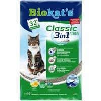 10L Classic Fresh 3in1 senteur printanière Biokat's - Litière pour Chat