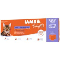 IAMS Delights Adult Land & Sea Collection - Land & Sea Collection in Gravy (24 x 85g)