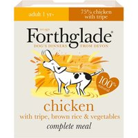 Forthglade Complete Meal Dog Saver Packs 36 x 395g - Adult Grain Free Salmon with Potato & Vegetables