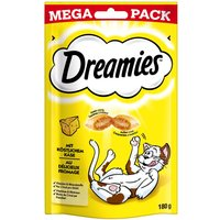 Big Pack Dreamies Cat Treats 180g - Saver Pack: 6 x Cheese