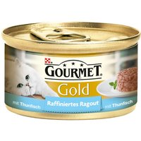 Gourmet Gold Refined Ragout Saver Pack 24 x 85g - Tuna