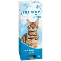 My Star is a Hero Wet Cat Food - Veal - 10 x 90g