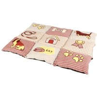 Trixie Patchwork Quilted Dog Blanket - 80 x 55 x 7 cm (L x W x H)