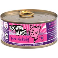 Meowing Heads Purr-Nickety Adult Salmon - 6 x 100g
