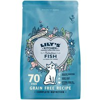 Lilys Kitchen Fabulous Fish Complete Dry Food for Cats - Economy Pack: 2 x 2kg