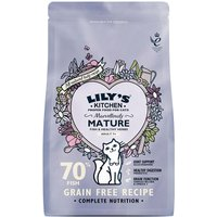 Lilys Kitchen Marvellously Mature Complete Dry Food for Cats - 800g