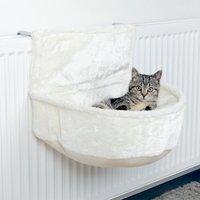 Hamac de radiateur Trixie pour chat - L 45 × l 33 × H 30 cm - blanc