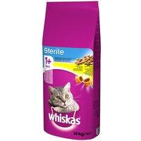 Whiskas 1+ Sterile Chicken - Economy Pack: 2 x 14kg