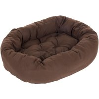Cosy Mocca Dog Bed - 120 x 105 x 25 cm (L x W x H)