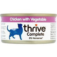 thrive Complete Adult - Chicken with Vegetables - Saver Pack: 24 x 75g
