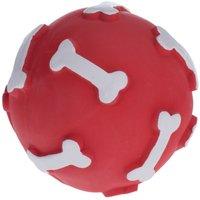 Festive Latex Dog Ball - 1 Toy