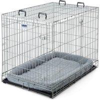 Cage de transport et d'intérieur Dog Residence - taille XL : l 76 x P 118 x H 88 cm