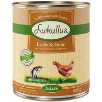 Lukullus Salmon & Chicken - 6 x 800g