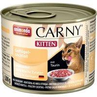 Animonda Carny Kitten 6 x 200g - Poultry