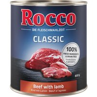 Rocco Classic 6 x 800g - Beef with Lamb
