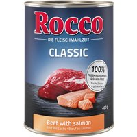 Rocco Classic Saver Pack 12 x 400g - Beef with Salmon
