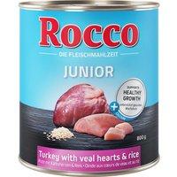 Rocco Junior 6 x 800g - Beef & Calcium