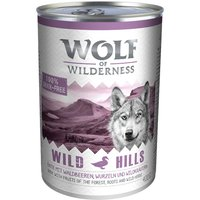 Wolf of Wilderness Adult Saver Pack 24 x 400g - Mixed Pack