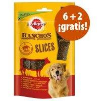 Pedigree Ranchos Slices 8 x 60 g en oferta: 6 + 2 ¡gratis! - Vacuno 8 x 60 g
