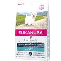 Eukanuba Adult Breed Specific West Highland White Terrier - Sparpaket: 3 x 2,5 kg
