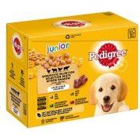 Pedigree Junior Frischebeutel Multipack Nassfutter für Hunde - 12 x 100 g