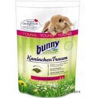 Comida Bunny Kaninchen Traum YOUNG para conejos jóvenes - 2 x 1,5 kg - Pack Ahorro