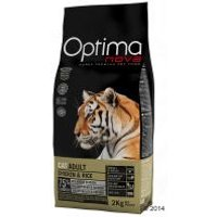 Optimanova Adult con pollo para gatos - 8 kg