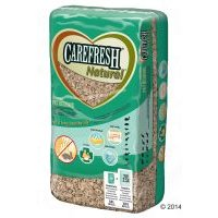 Carefresh Natural lecho para roedores - 2 x 60 l - Pack Ahorro