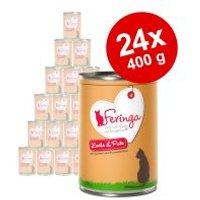Feringa Classic Meat Menu 24 x 400 g - Pack Ahorro  - Conejo y pavo
