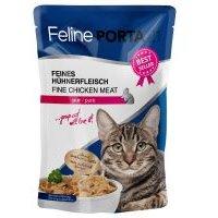 Feline Porta 21 6 x 100 g en bolsitas para gatos - Atún con aloe (sin cereales)