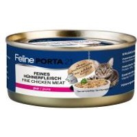 Feline Porta 21 6 x 156 g en latas para gatos - Kitten pollo con arroz
