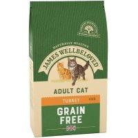 James Wellbeloved Adult Sin Cereales Pavo - 4 kg
