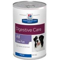 Hill's i/d Low Fat Prescription Diet Digestive Care latas para perros - 24 x 360 g - Pack Ahorro