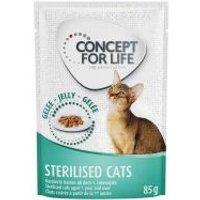 Concept for Life Sterilised Cats en gelatina - 24 x 85 g