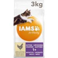 IAMS for Vitality Kitten con pollo fresco - 3 kg