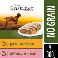 True Instinct No Grain Medium/Maxi Multipack - 16 x 300 g - Pack Ahorro