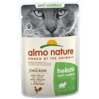 Almo Nature Holistic Anti Hairball en bolsitas - 6 x Pollo