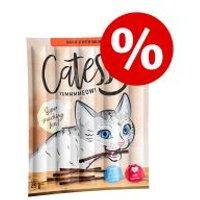 Catessy Sticks 50 x 5 g snacks para gatos - Pack Ahorro - Ave e hígado