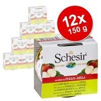 Pack Ahorro: Schesir pollo con fruta en latas 12 x 150 g - Pollo con piña