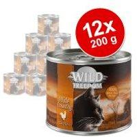 Wild Freedom Adult 12 x 200 g en latas - Pack Ahorro - Green Lands - Cordero y pollo