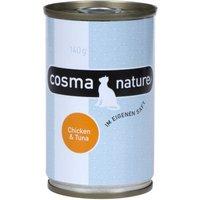 Cosma Nature 6 x 140 g - Hühnchen & Käse