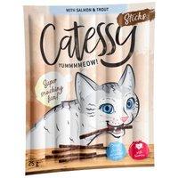Catessy Sticks 10 x 5 g - mit Lachs und Forelle