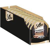 Megapack Sheba Schale 44 x 85 g - Classics in Pastete Ente und Huhn